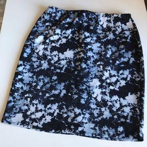 Vince Camino Pencil Scuba Skirt sz 1X